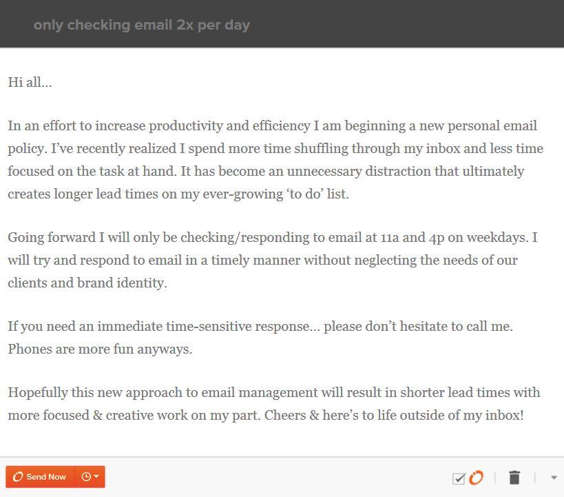 A zseniális e-mail rendszer, mely segített Timnek elérni a maximális termelékenységet